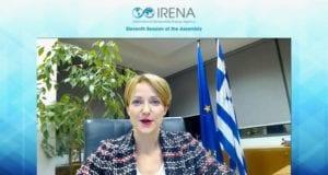 Alexandra Sdoukou IRENA