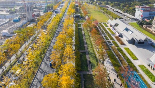 Xuhui Runway Park copywrights Sasaki