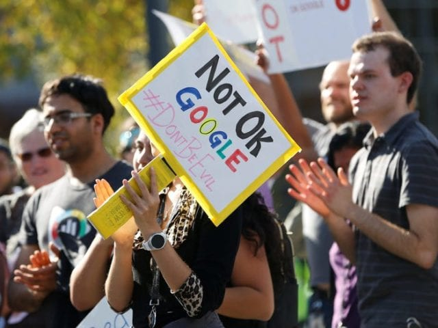 gOOGLE PROTESTS