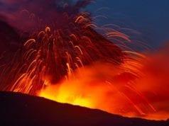 Αιτνα ηφαιστειο έκρηξη