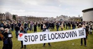 ολλανδία lockdown διαμαρτυρία