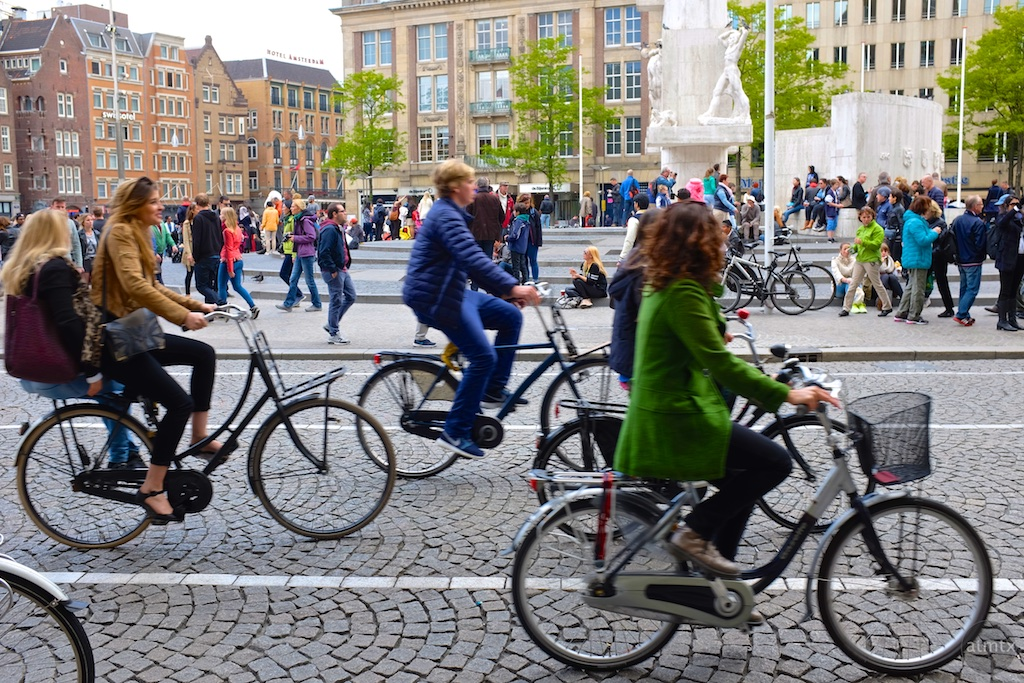 πράσινες πόλεις αμστερνταμ ποδηλατο