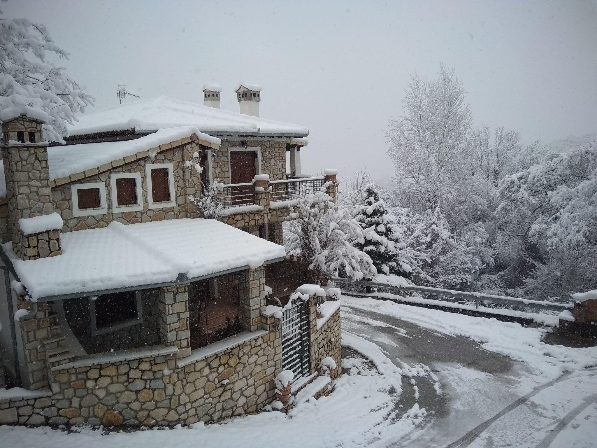 χιόνια Τρίκαλα