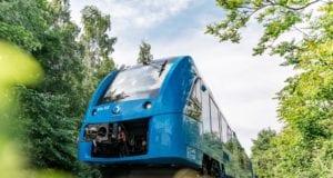 Coradia iLint world's first hydrogen train low