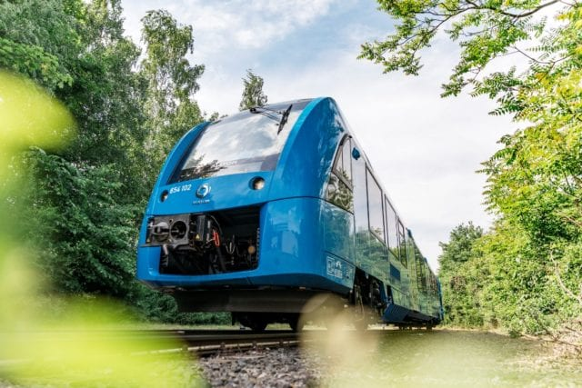 Coradia iLint world's first hydrogen train low
