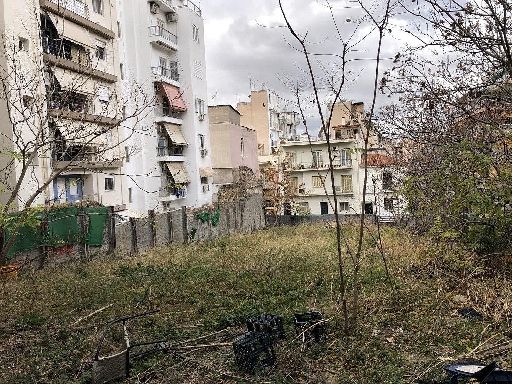 Πάρκο τσέπης Παγκράτι: Στην αρχή των εργασιών