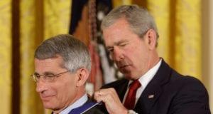 George W. Bush, Anthony S. Fauci