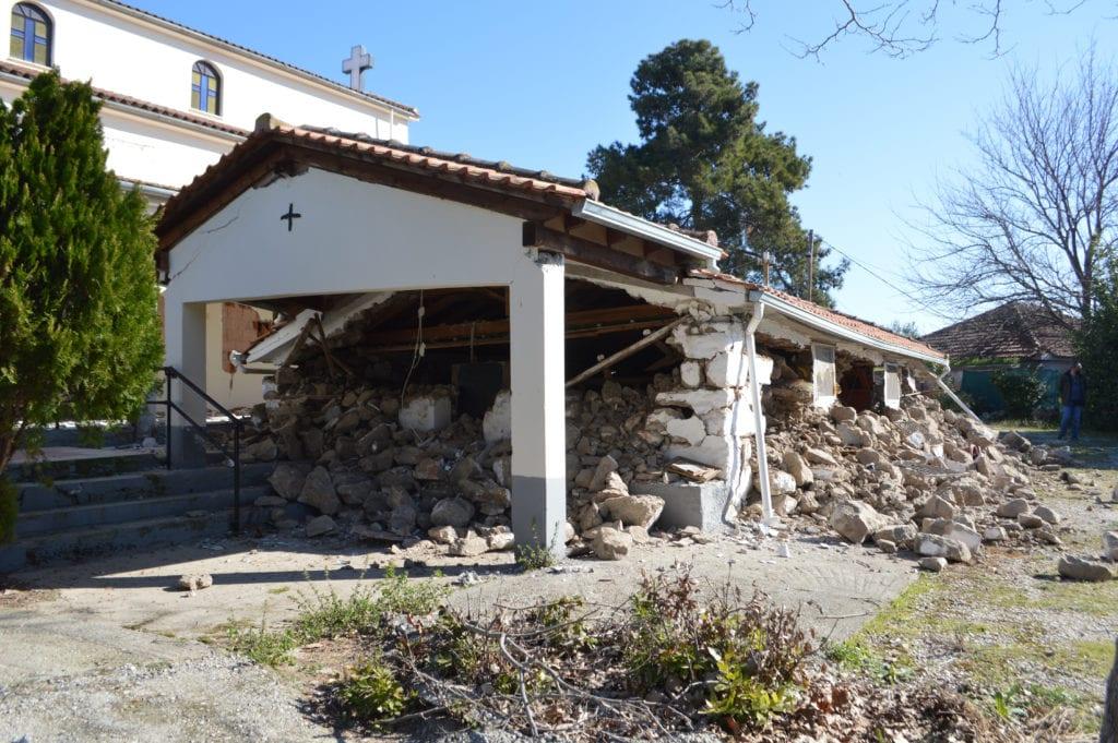 μνημεία, σεισμός