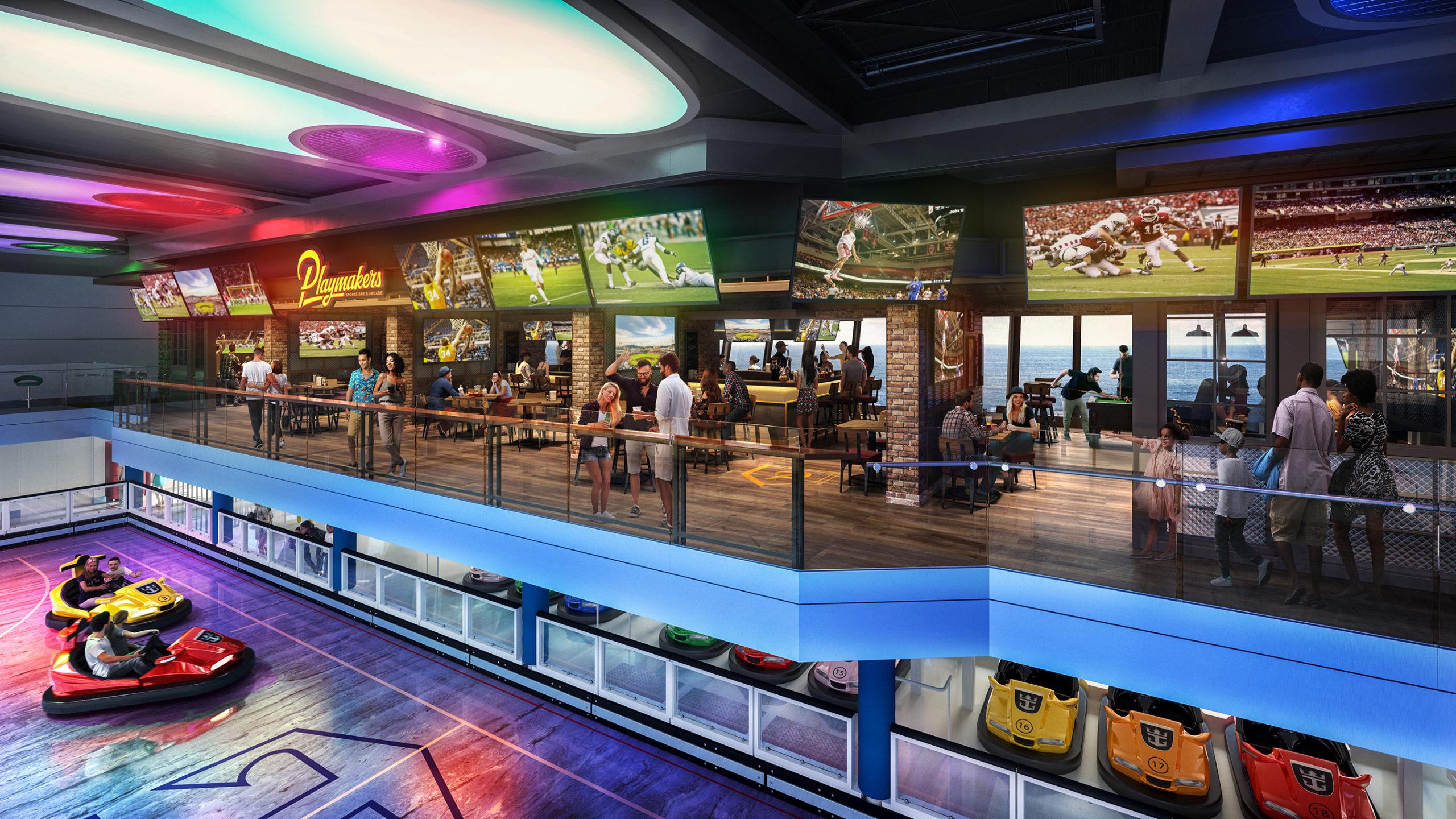 Arcade Odyssey of the seas Royal Caribbean International