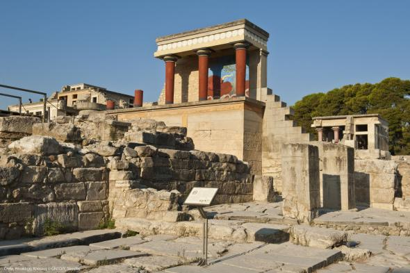 Crete Heraklion Knossos photo Y Skoulas