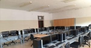 Εργαστήριο πληροφορικής του συγκροτήματος Εύριπος