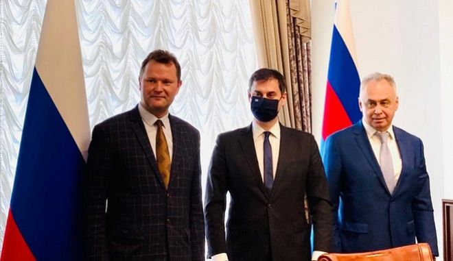 Θεοχαρης Ρωσία