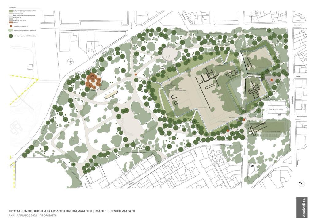 Πρόταση ενοποίησης αρχαιολογικών σκαμμάτων