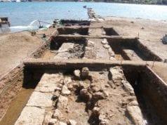 επιθαλάσσιο τείχος 4ου αι πΧ Σαλαμίνα ΥΠΠΟΑ