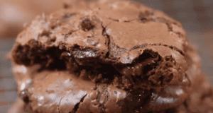 μπισκότα διπλής σοκολάτας
