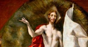 EASTER EL GRECO resurrection