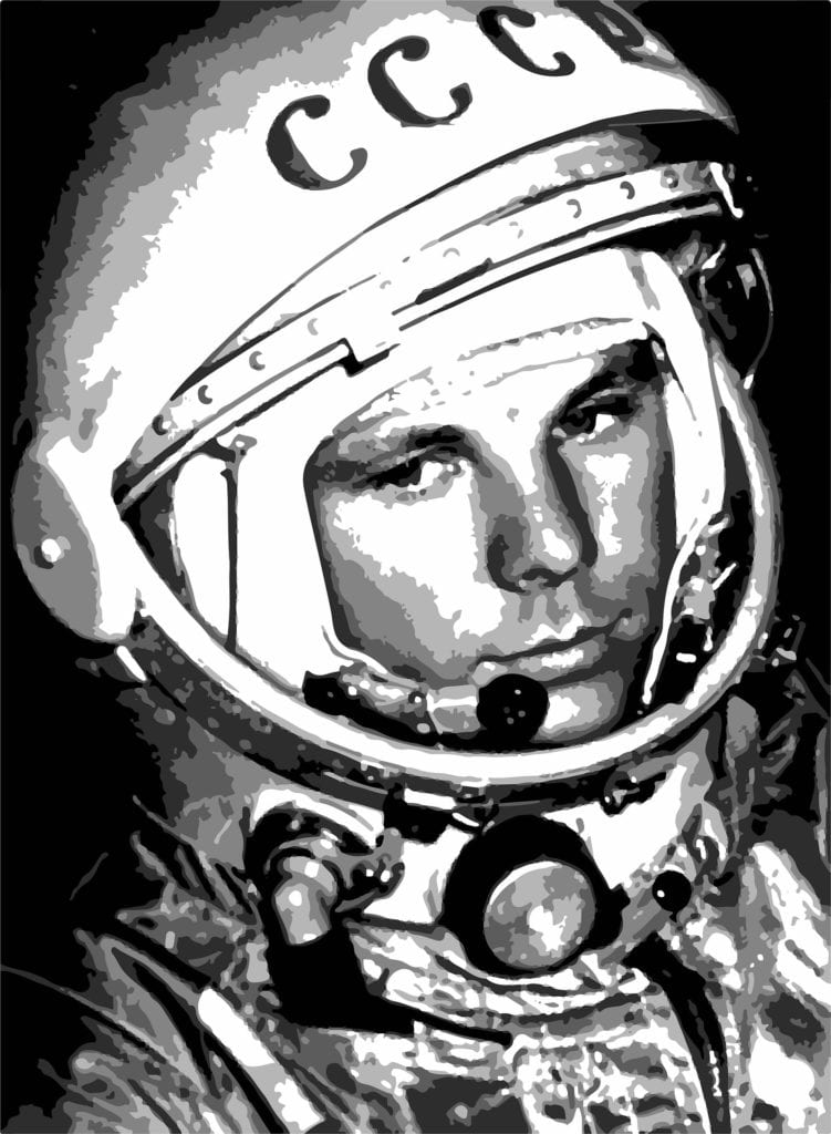 Gagarin by Victoria Borodinova pixabay