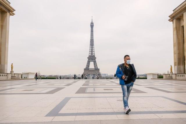 lockdown Παρίσι