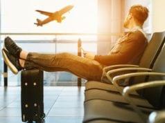 ταξίδι, αεροδρόμιο