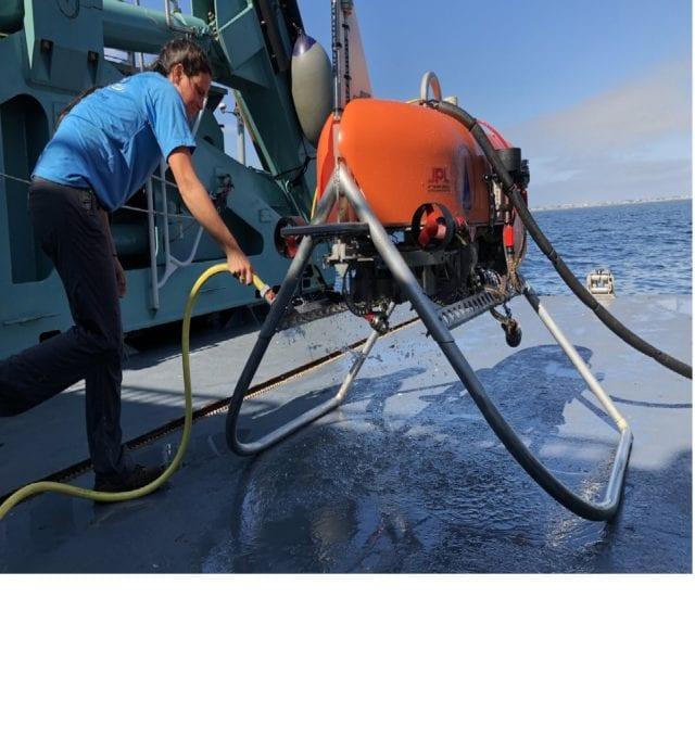 NASA ocean robot