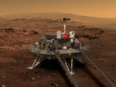 Zhurong Chinese Mars Lander CREDIT cnsa