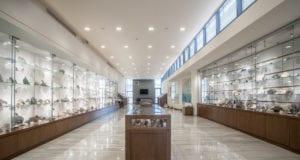 Γενική άποψη του Μουσείου Ορυκτών και Πετρωμάτων της ΕΑΓΜΕ