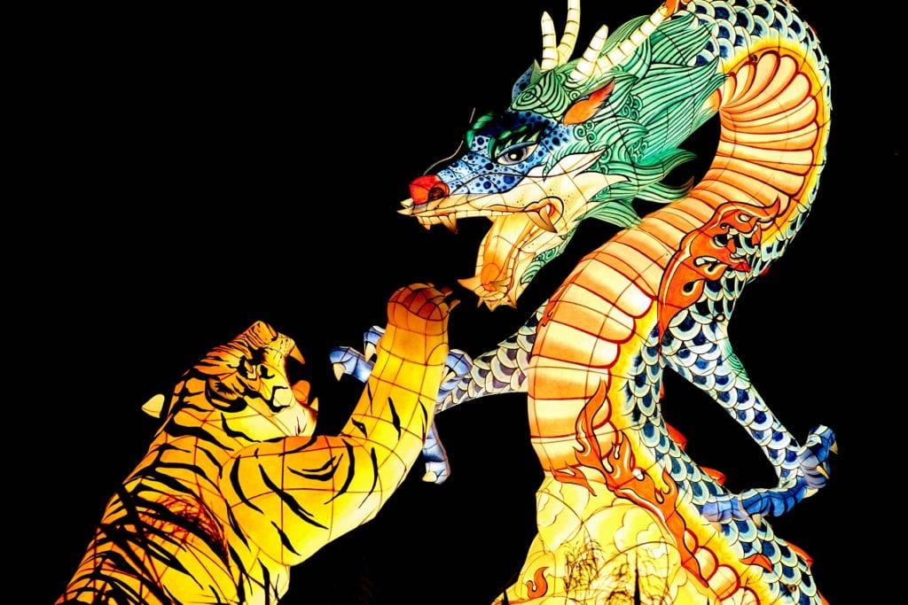 Τίγρης και δράκος