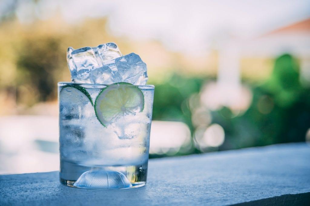 Gin tonic με αγγουρι