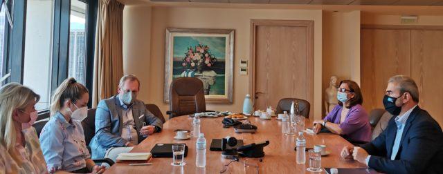Εικόνα: Στιγμιότυπο από τη σύσκεψη ΕΟΤ - DRV