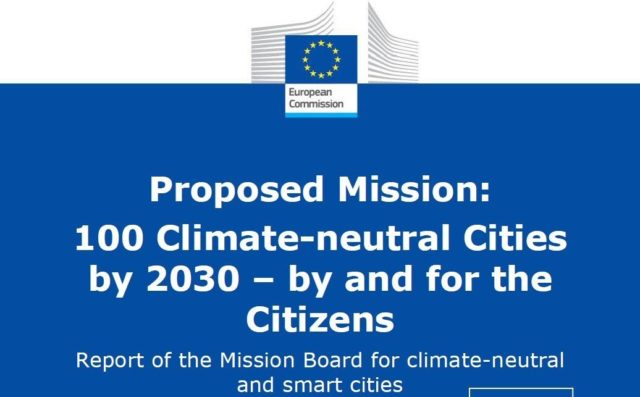 """""""100 Climate Neutral Cities by 2030"""""""