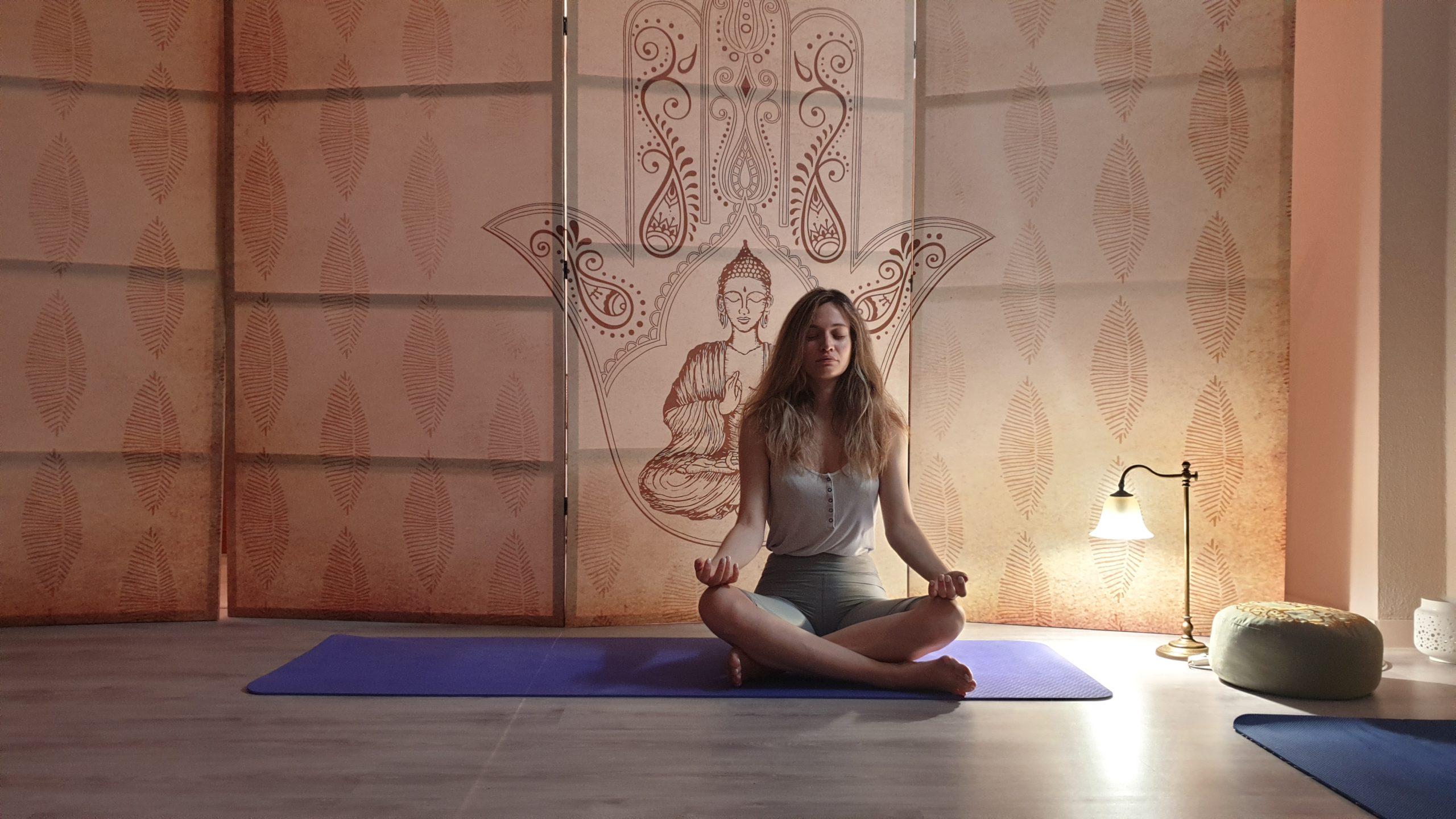 yoga, στάση οκλαδόν