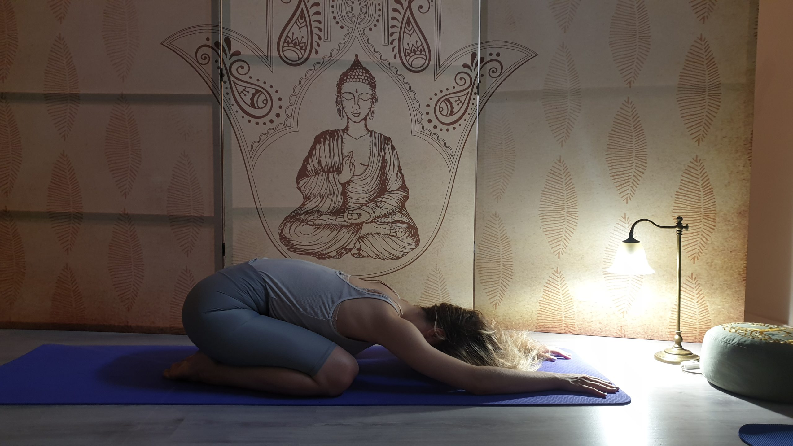 yoga, στάση του παιδιού
