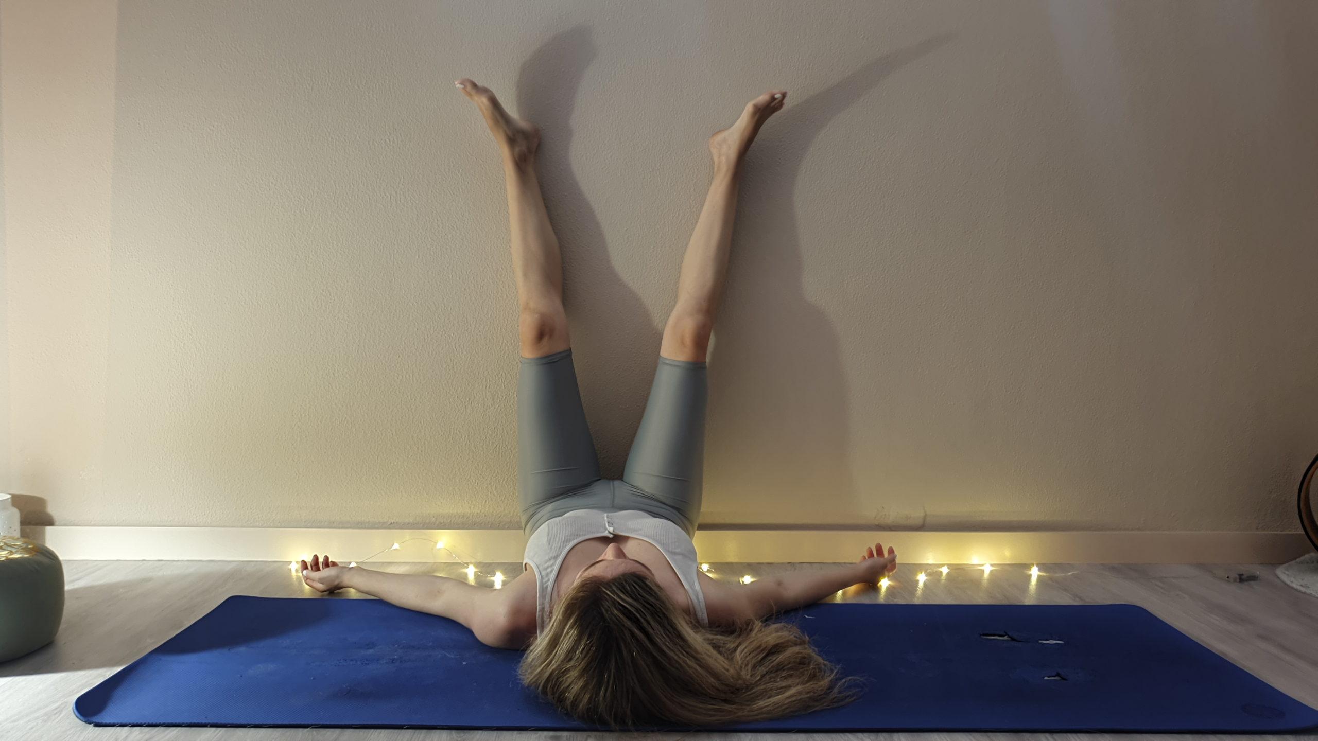yoga, στάση λαμπάδας