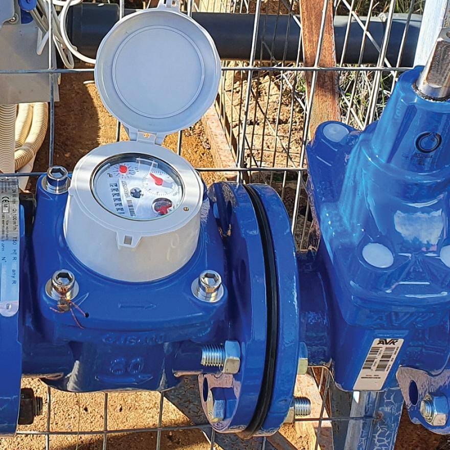 Smart Water Management Monemvasia