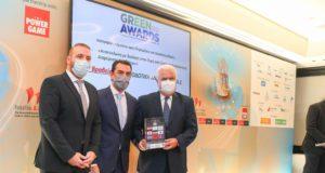 ΑΝΤΑΠΟΔΟΤΙΚΗ ΑΝΑΚΥΚΛΩΣΗ Green Awards 2021