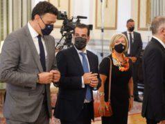 Τελετή Ορκομωσίας των νέων μελών της Κυβέρνησης Μητσοτάκη ενώπιον της ΠτΔ Κατερίνας Σακελλαροπούλου, όπως προέκυψε από τον σημερινό ανασχηματισμό, Τρίτη 31 Αυγούστου 2021 (ΓΙΩΡΓΟΣ ΚΟΝΤΑΡΙΝΗΣ/ EUROKINISSI)