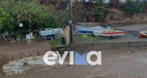 Πλημμύρες - Εύβοια